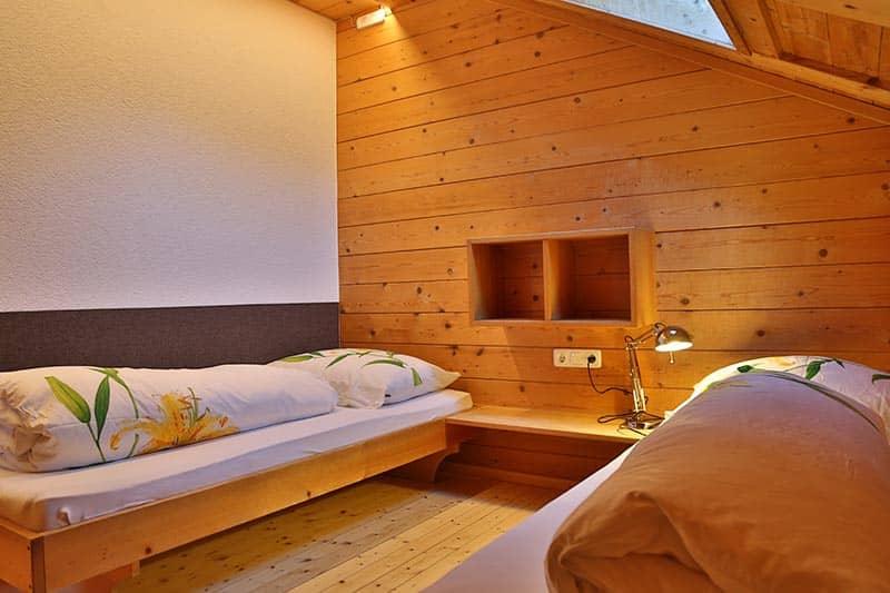 Ferienwohnung Kanisfluh Betten