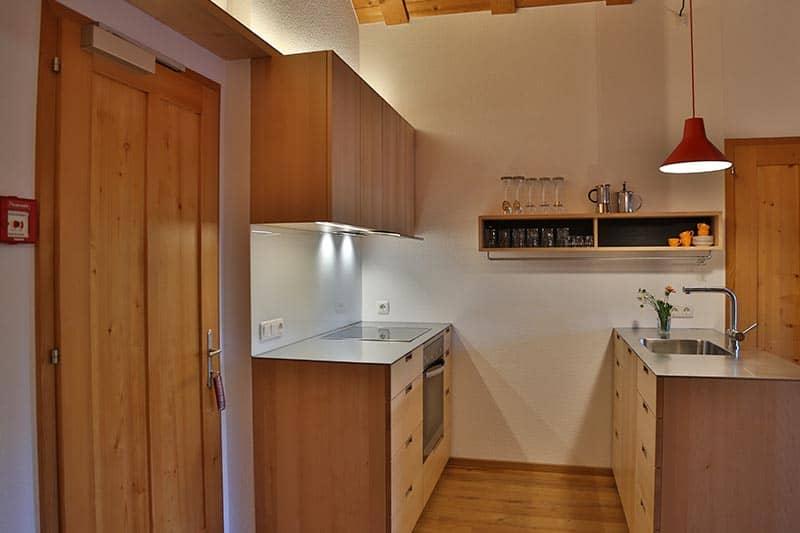 Ferienwohnung Kanisfluh Küche