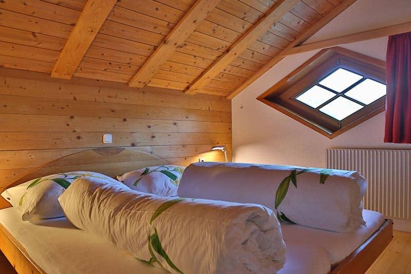 Ferienwohnung Kanisfluh Schlafzimmer
