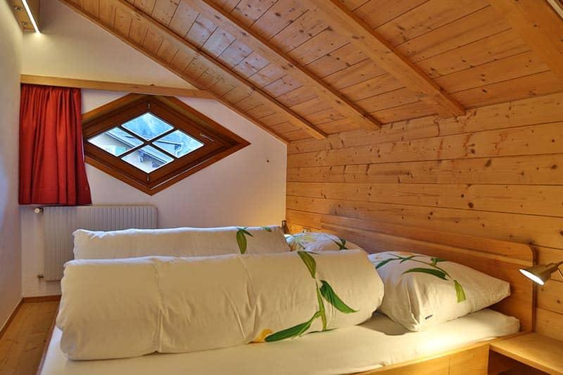 Ferienwohnung Tannberg Doppelzimmer
